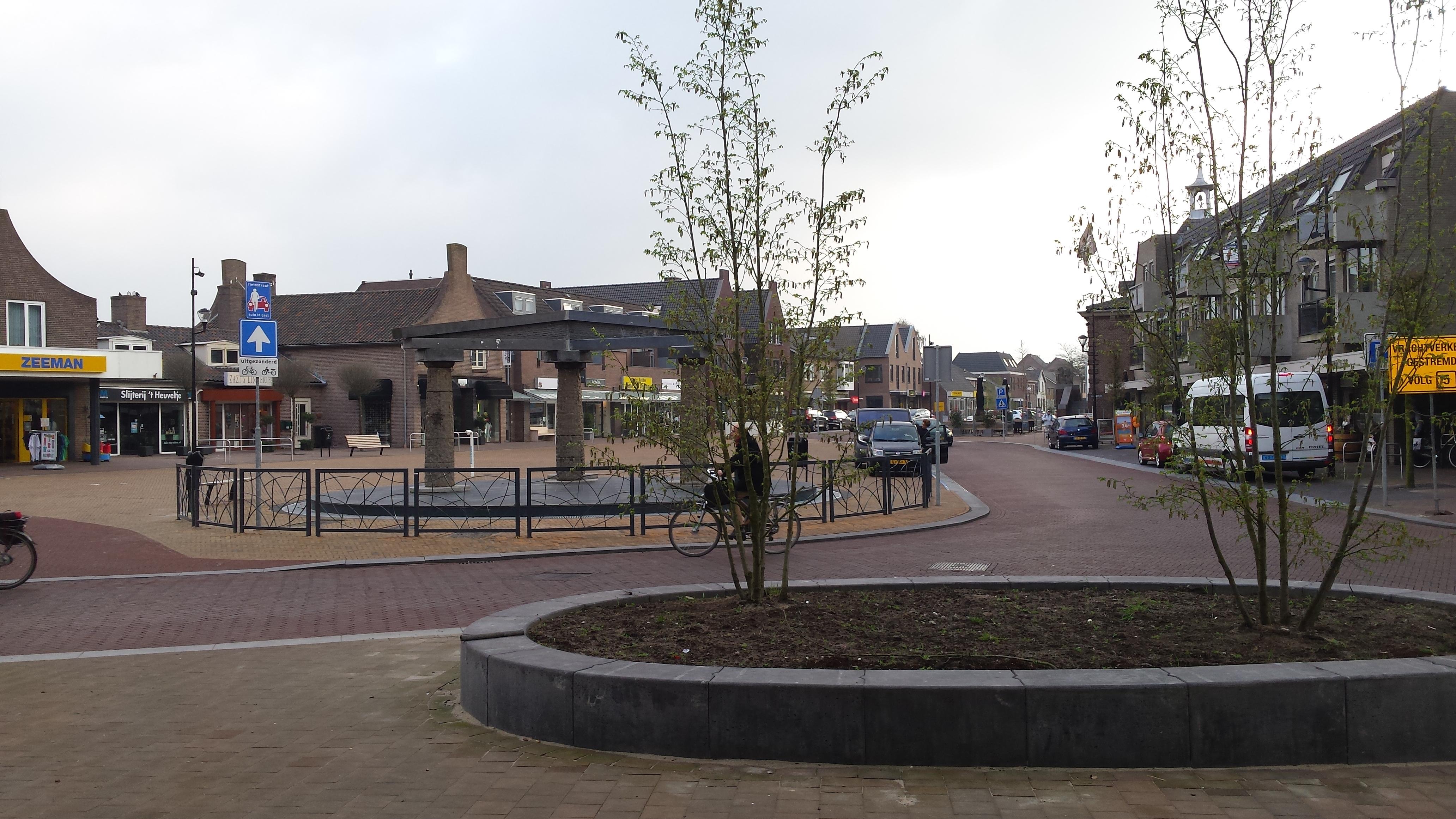 Herinrichting centrumplan – gemeente Heesch